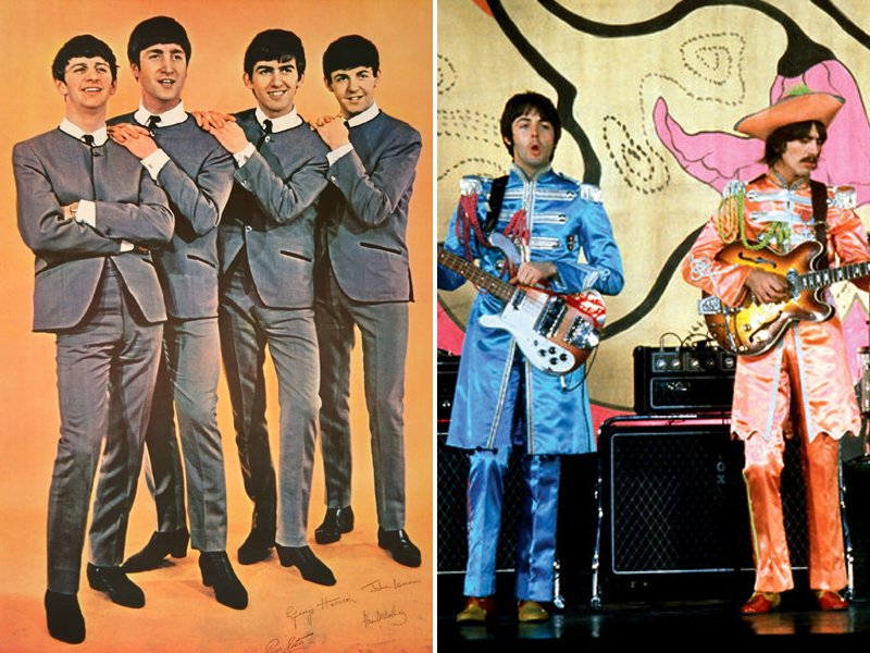 1960s The Beatles Suits