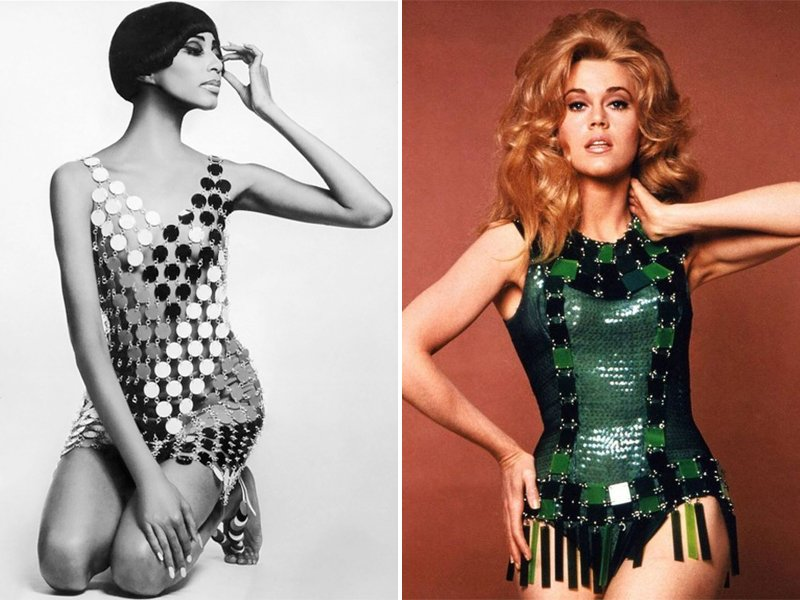 1960s Space Age Fashion Paco Rabanne
