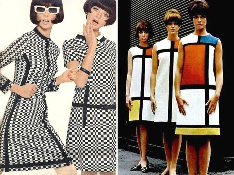 1960s Womens Mod Fashion