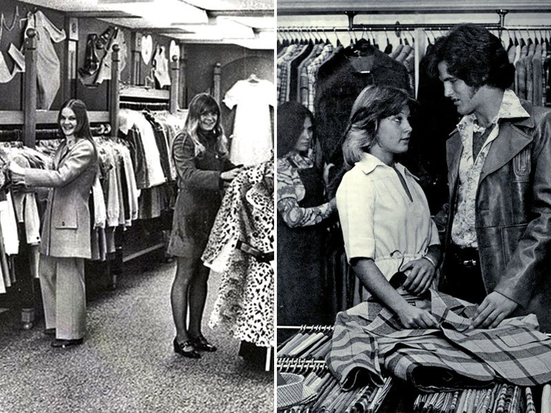 1970s Charity Shop Chic