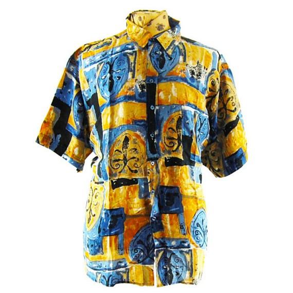 Camisas de seda retro de hombre - Una historia de herencia y reinvención