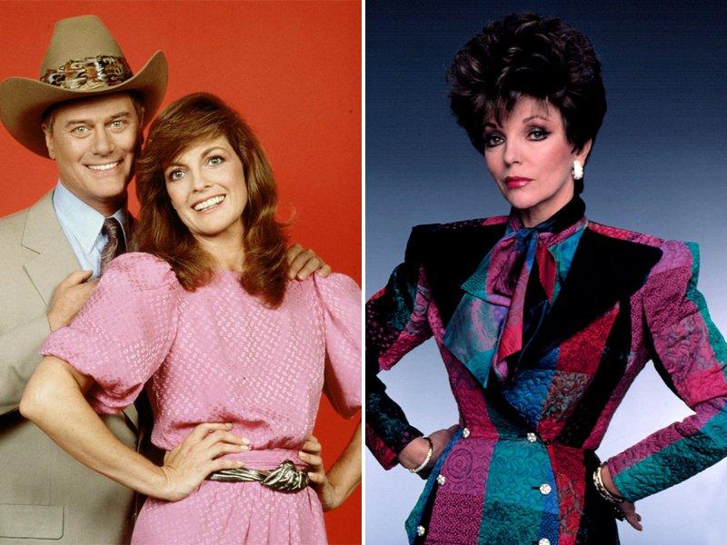 1980s Dallas Dynasty Fashion