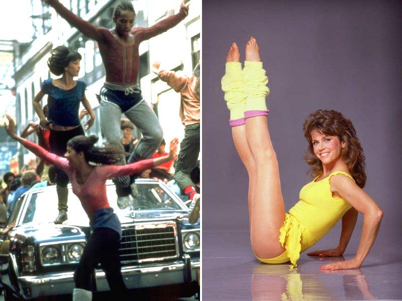 1980s Dancewear Fashion
