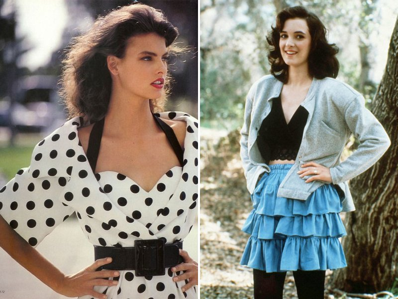 1980s Fashion Influenced By The 1950s