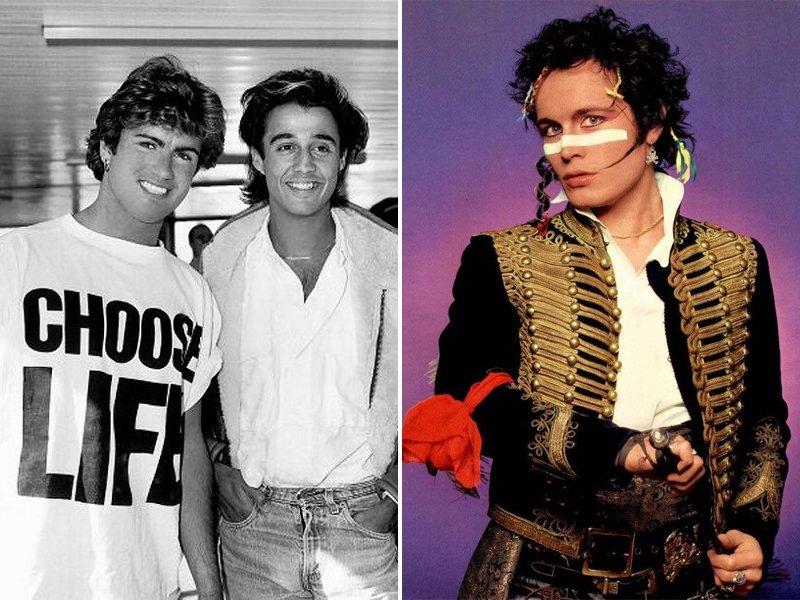 1980s Music Fashion Wham Adam Ant