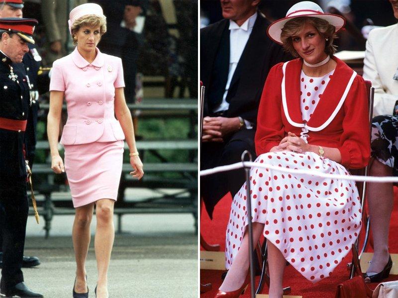 80s Princess Diana Fashion