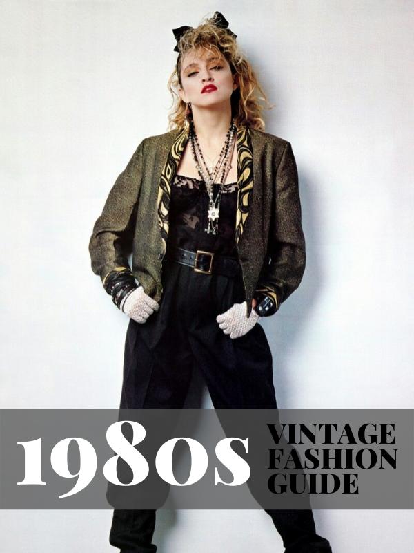 1980s Vintage Fashion Guide