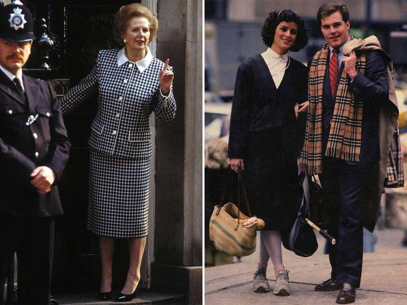 1980s Yuppie Fashion