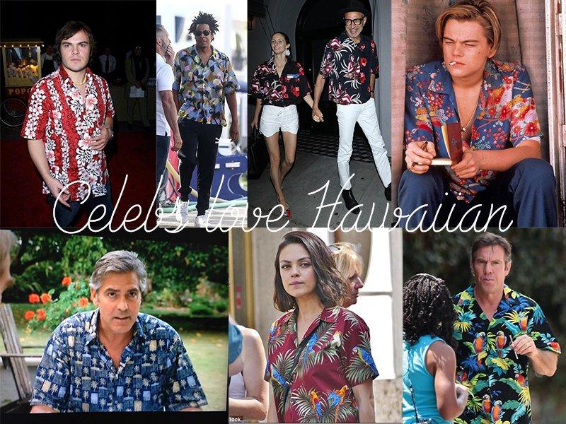 Celebrities Love Hawaiian