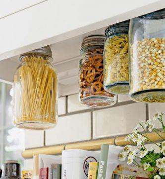 Organización de cocina vintage