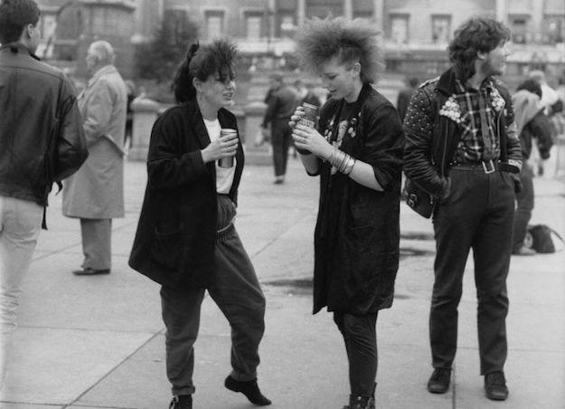 Look punk años 70