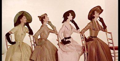 Historia de la moda femenina: Los años '40