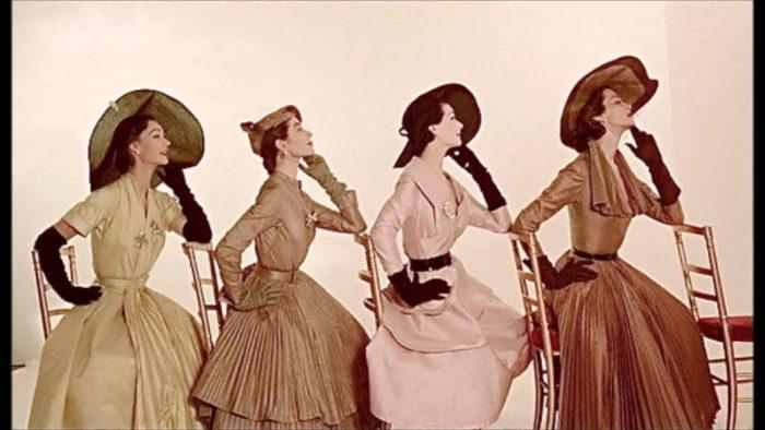 Historia de la moda femenina: Los años 40