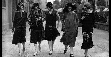 Historia de la moda femenina: Los años '20