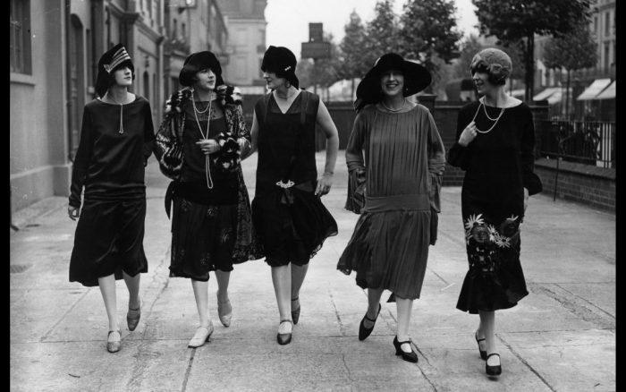 Historia de la moda femenina: años 20